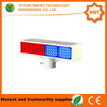 Long life waterproof solar flashing offraod led light bar