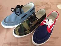 2015 MEN casual canvas boat sneakers shoes