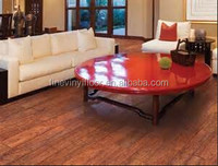 vinyl wood pattern pvc flooring with thickness 2.0mm ~6.0mm