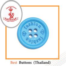 Custom laser engraved buttons