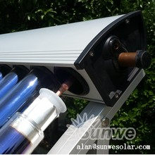 Solar Collector C01 New Cover Heat Pipe Aluminum Fin Manifold Vacuum Tube