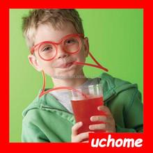UCHOME Passed FDA Test Hot Sale New Design Crazy Drinking Straw Glasses Straw