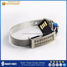 [Smart-Times] Bracelet Metal USB Flash Drive