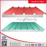Sandwich Panel with Polyurethane Color-coated Galvanized Steel Panel