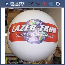 Grande de pvc de promoción bola inflable gigante, globos del <span class=keywords><strong>desfile</strong></span>