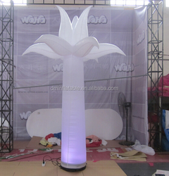 inflatable led lighting cone tree for events/party decoration