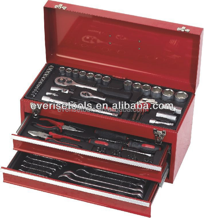 Box Spanner Socket Wrench Tool Set With Drawers Box - Buy Tool