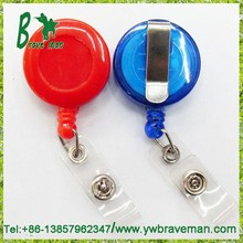 Swingline GBC Retractable Badge Reel, Translucent Primary Color Assortment