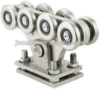 Fence Rolling Gate Hardware Kit Cantilever Carriage Wheel
