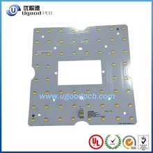 aluminium cree led pcb,black pcb led flexible strip,94v led pcb with high quality manufacturer in Shenzhen