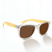 Sunglasses handmade bamboo Bamboo with wooden temples and Polarized lens
