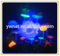 big artificial transparente de resina de coral coral con led de la lámpara para el acuario
