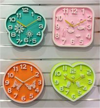 Plastic 3D Wall Clock
