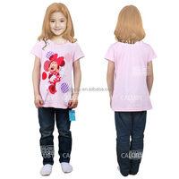 child tee shirt / girl stylish t-shirt