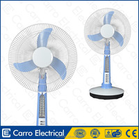 China wholesale 16inch 35watts solar table cooling electric fan electric chimney fan