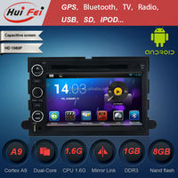 Car dvd player for 2005-2009 Ford Mustang 1080P support 3G WiFi GPS navigation bluetooth OBD2