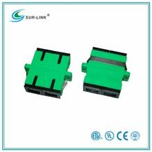 SC/APC Type Single Mode Duplex Fiber Optic Adapter Surlink