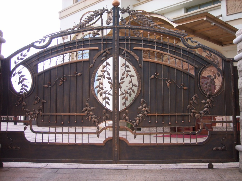 New latest house iron factory main gate designs buy for Latest main gate designs