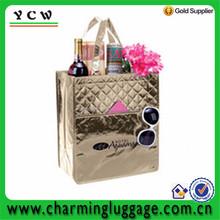 Custom Laminated Recycled pp non woven bag shopping bag Bag