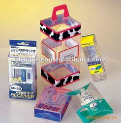 0.25mm-0.35mm folding box material -clear PET