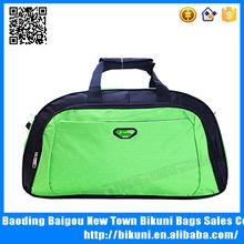 Women Bright color travel sports durable nylon waterproof foldable duffel bag