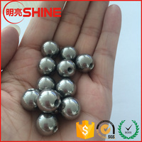 China manufacturing good quality 12mm carbon steel ball with blind hole screw