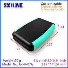 abs plastic Handheld electronic enclosures 9v battery holder