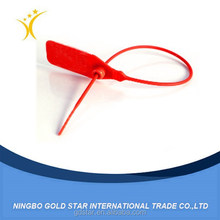 plastic security seals with barcode for security shipping&packaging