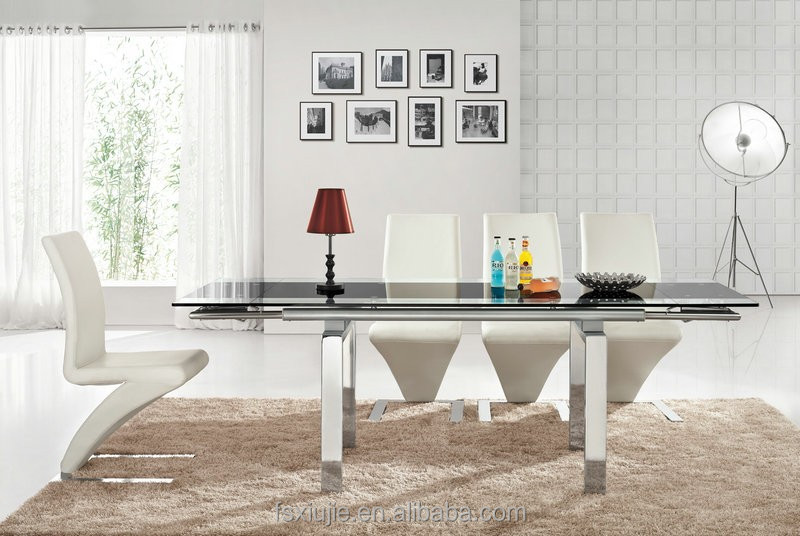 8 seater adjustable glass dining table buy glass dining