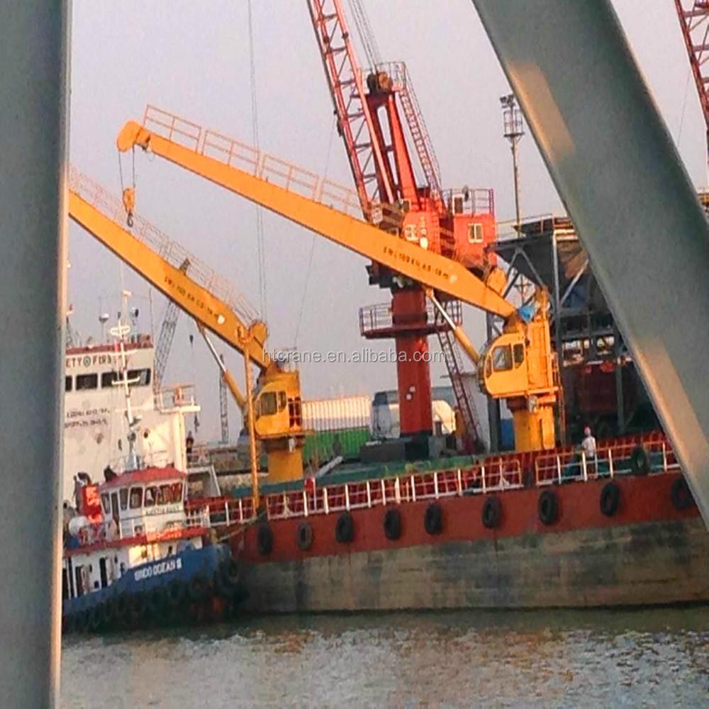 Yacht Hydraulic Crane : Marine electro hydraulic deck crane jib
