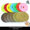 Hot Sale 4 inch Angle Grinder Polishing Pads For Granite, Marble, Concrete