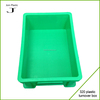 Durable stackable plastic box plastic crate for vegetable and fruit