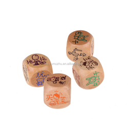 New Wooden Dice,Hot Sale Dice Game,High Quality playing dice