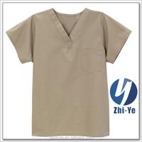 scrub top latest fashionable medical scrub manufacturer