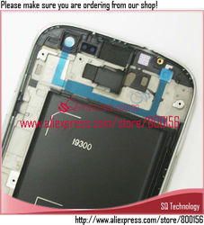 Replacement Spare Parts for Samsung for Galaxy S3 LCD Screen i9300 Touch Screen Assembly +Frame