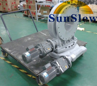 top precision dual axis slewing drive for solar dish tracker