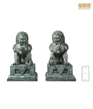 Hot china products wholesale bronze lions