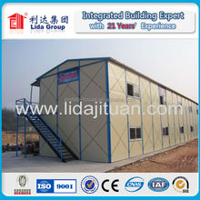 well-designed prefabricated house /decorative sandwich panel one bedroom small prefab house