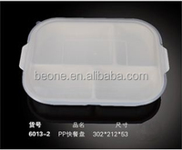 hotel high quality wholesale white plastic PP snack plate