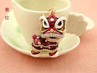promotional gift novelties goods from china dragon shape keychain