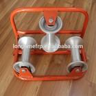 Snatch pulley rolo Nylon de alumínio cabo triplo polia cabo , que rolo