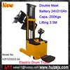 Standing Operated Battery Electric Drum Lifter with 200Kgs Capacity