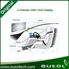 Super slim hud head up display OBD V checker H301 Real time display vehicle performance