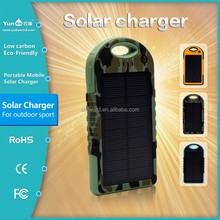 2015 Best Seller YD-T011 Solar Power Bank with Manufacturer Price