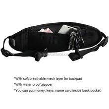 unisex elastic strap belt bag cell phone shoulder bag