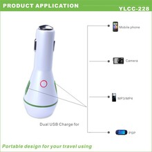 2014 arrival newest hot sales 5v 2a dual port battery car charger