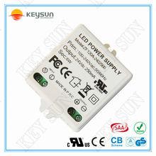led power supply 24v dc 250mA led driver for led 24V 250MA 6W small size power supply