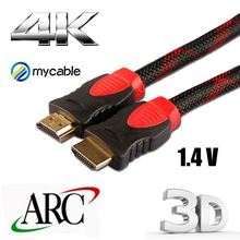 high speed HDMI to HDMI cable support ethernet 3D 4k and Audio Return bluetooth hdmi video transmitter
