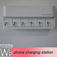 2015 new arrival phone charging smart locker emergency mobile phone charger using aaa battery