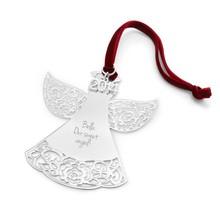 Pierced Rose angel Christmas ornaments